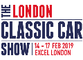 The London Classic Car Show 14 - 17 February 2019