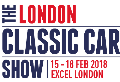 The London Classic Car Show 15 - 18 February 2018